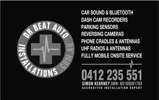 Dr Beat Mobile Auto Installations Gold Coast